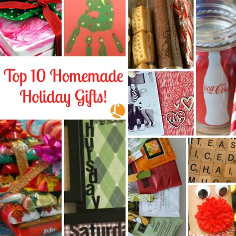 top 10 homemade holiday gifts living rich with coupons