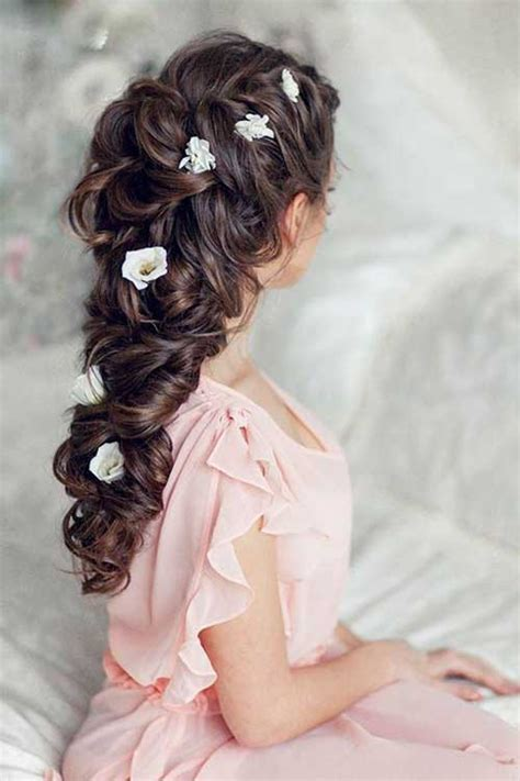 bridal hairstyles of long hair 40 best wedding hairstyles for long hair long