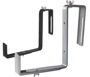 hanging basket and window box brackets