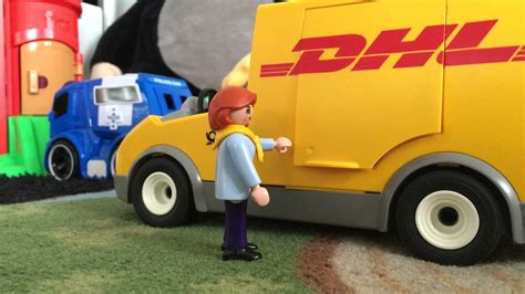 Dhl Auto by Playmobil 4410 Dhl Auto Trickfilm Hd