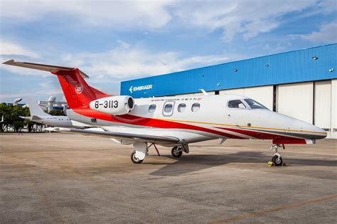 exec jet embraer exec jets delivers phenom 100e in china