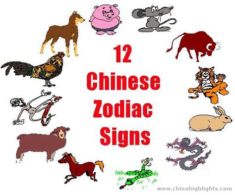 new year zodiac animal order twelve zodiac signs mybestfengshui