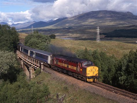 Sleeper Trains From To Edinburgh by Caledonian Sleeper At Achallader 169 The Carlisle Kid