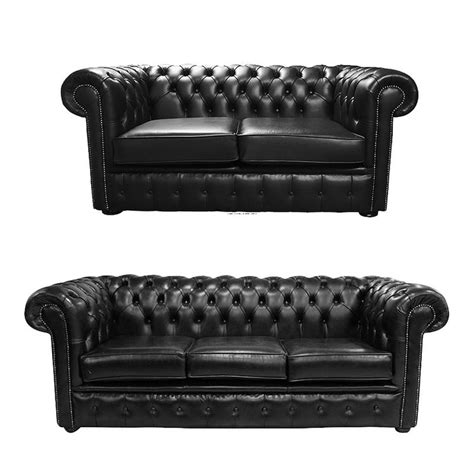 chesterfield 2 seater sofa chesterfield 2 seater 3 seater sofa black