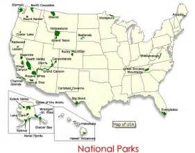 united states map of national parks u s national park map national parks