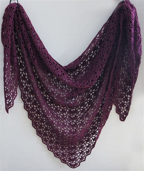 tutorial pashmina wool in this color free ravelry tearaleaf s mahogany shawl