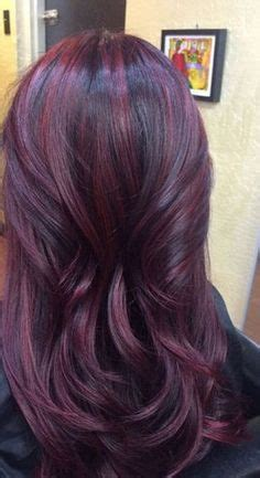 change hair color online for more convenience tips ideas advices dark brown violet hair with plum highlights hair
