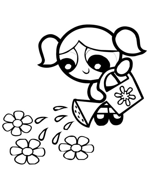 buttercup coloring pages clipart