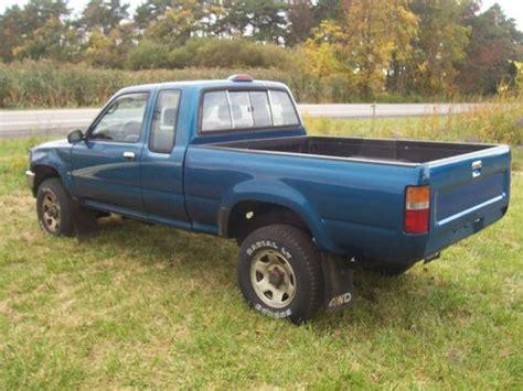 1994 Toyota Tacoma Buy Used 1994 Toyota Tacoma Excab 4x4 4cylinder 25mpg