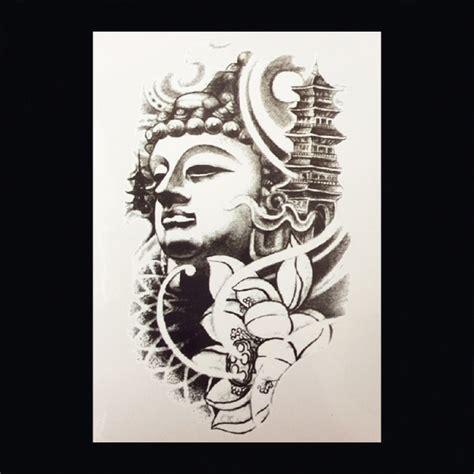 lotus tattoo zwart wit xl tattoos symbolen zwart wit faketattoo nl