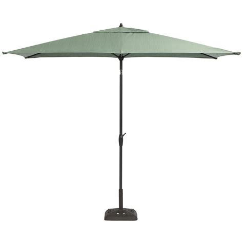 Hton Bay 9 Ft Aluminum Patio Umbrella In Spa With Tilt Hton Bay 9 Ft Aluminum Patio Umbrella In Sky Blue With