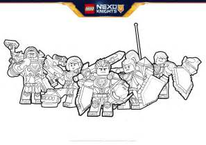 nexo knights heroes formation 01 colouring activities nexo knights lego