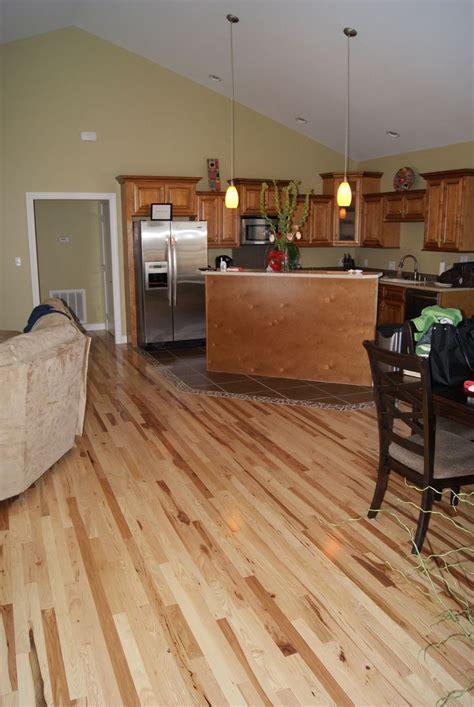 natural hickory floor kitchen 17 best images about kitchen on pinterest menards