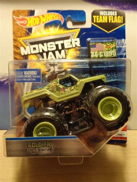 matchbox monster jam j and j toys wheels monster jam soldier fortune