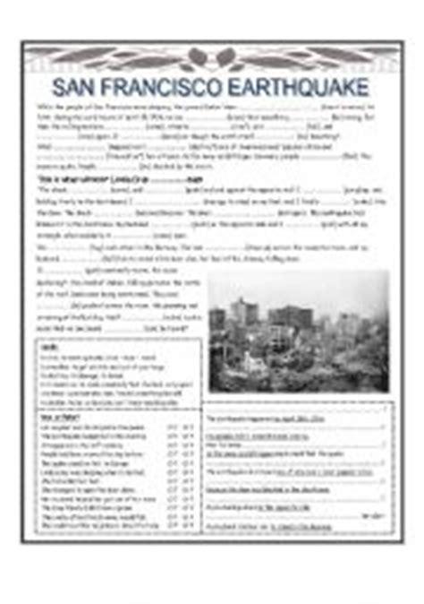 earthquake quiz pdf worksheets earthquake worksheet opossumsoft worksheets