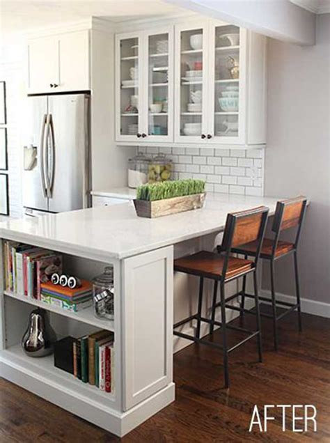 kitchen island with shelves 19 must see practical kitchen island designs with seating
