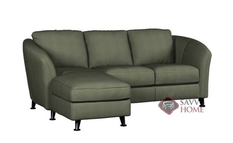 angled chaise sofa alula fabric chaise sectional by palliser is fully