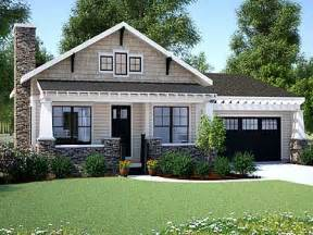 Small Single Story House Plans by Craftsman Bungalow Small One Story Craftsman Style House