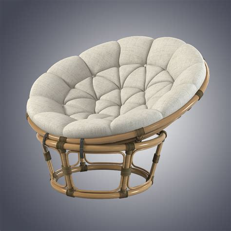 Rattan Chaise Lounge Chair Design Ideas 3dsmax Papasan Rattan Chair