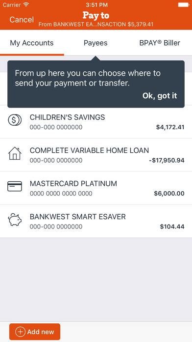 full version bankwest bankwest app report on mobile action