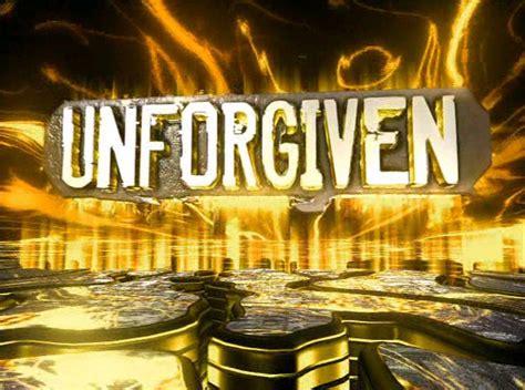 wwe unforgiven logopedia  logo  branding site