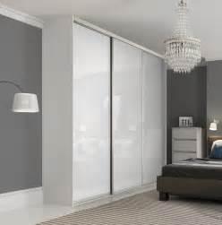 premium midi single panel sliding wardrobe doors in