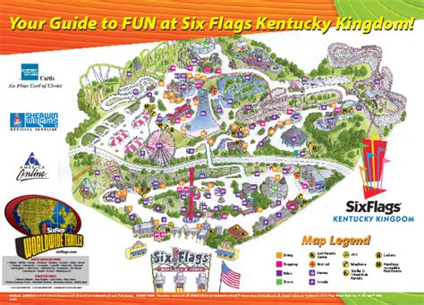 six flags vallejo map six flags kentucky kingdom coupons i9 sports coupon