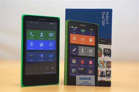 nokia android nokia x android phone unboxing 5 fone arena