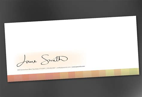 envelope template for design for illustrator artist