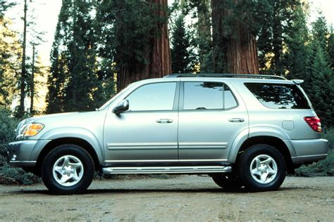 2001 toyota sequoia reviews 2001 toyota sequoia overview cars
