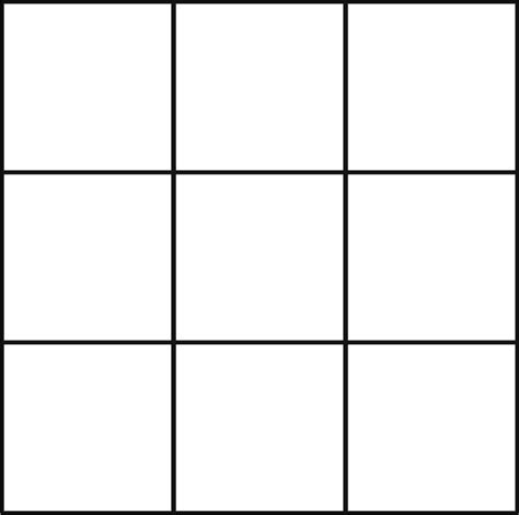 bingo template word posts