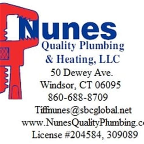 Quality Plumbing And Heating by Nunes Quality Plumbing Heating Loodgieters 50 Dewey