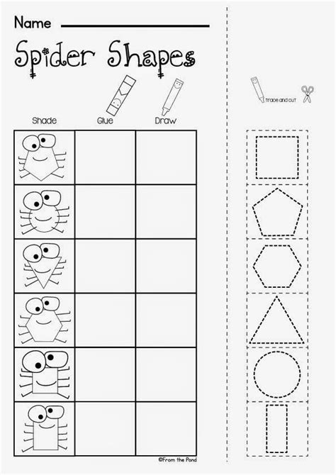spider worksheets for kindergarten best 25 free spider ideas on preschool theme preschool and