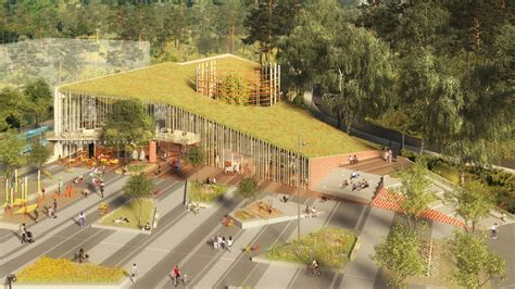 home design plaza in ta sweco s kulturkorgen offers gothenburg a basket of culture archdaily