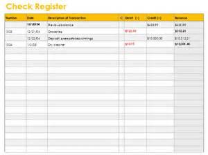 checkbook balance template checkbook register template