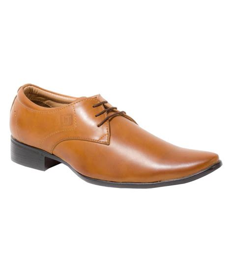 alligators light brown formal shoes for price in