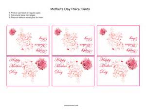 mothers day place cards kidscanhavefun