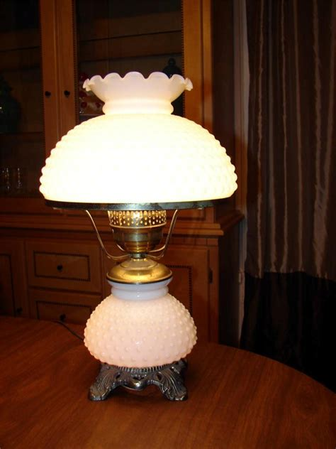 gone with the wind l parts fenton l parts vintage puffy roses milk glass hurricane
