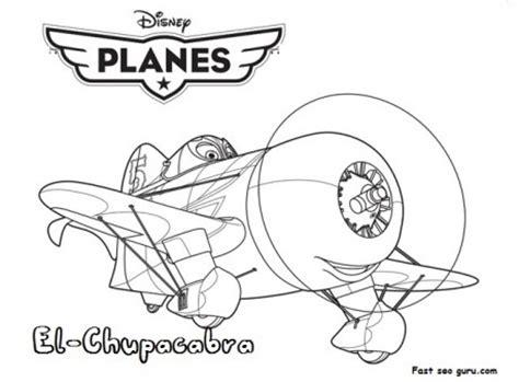 printable disney planes coloring pages printable planes movies el chupacabra coloring page