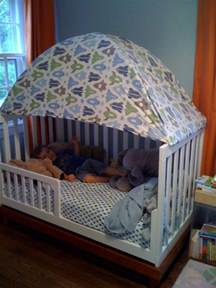 Toddler Bed Out Of Crib Turn An Crib Into A Toddler Bed Diy Projects For