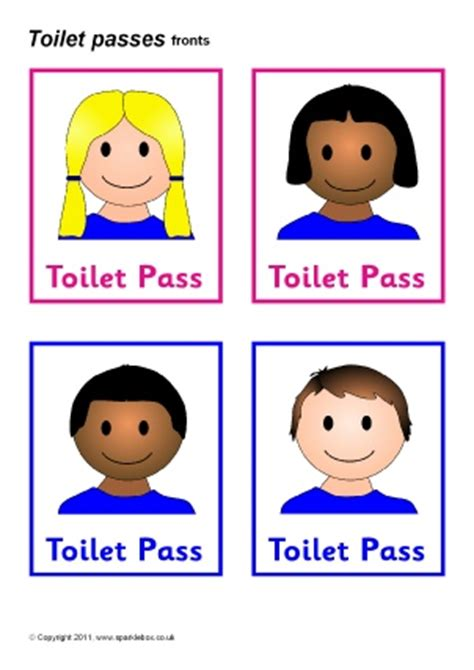 Toilets and washroom signs and labels for primary school sparklebox