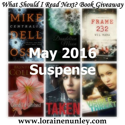 Book Giveaways 2016 - what should i read next may 2016 book giveaway loraine d nunley author
