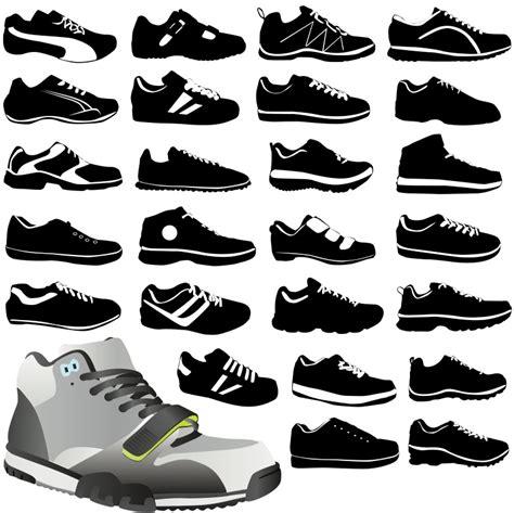 Sepatu Adidas Vektor 18 vector shoe bag images running shoe silhouette vector shoe silhouettes vectors free and