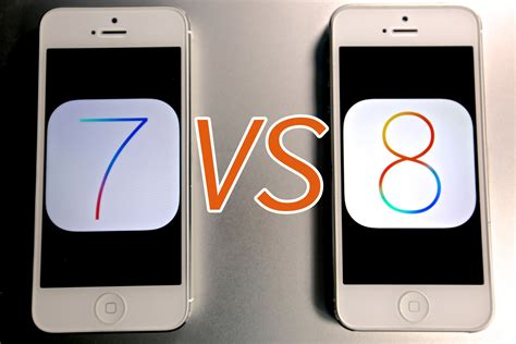 iOS 8 VS iOS 7 On iPhone 5   Which Is Faster?   YouTube