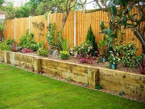 Backyard Planters Ideas by Raised Planters Along The Backyard Fence Would Help Give