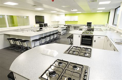 Room Cooking by Food Technology Classroom Renovation Southlands High
