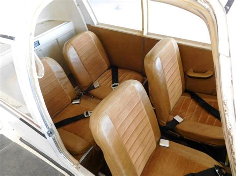 piper seat cylinder sold 1967 piper 140 n9746w indyairsales