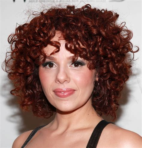 curls hairstyles pictures janet decal short red curly hair cool curly hair