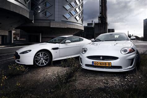 Aston Martin Jaguar by Aston Martin V8 Versus Jaguar Xkr Carroscarros
