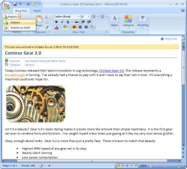 referenciar imagenes html word 2007 permitir 225 publicar en tu blog